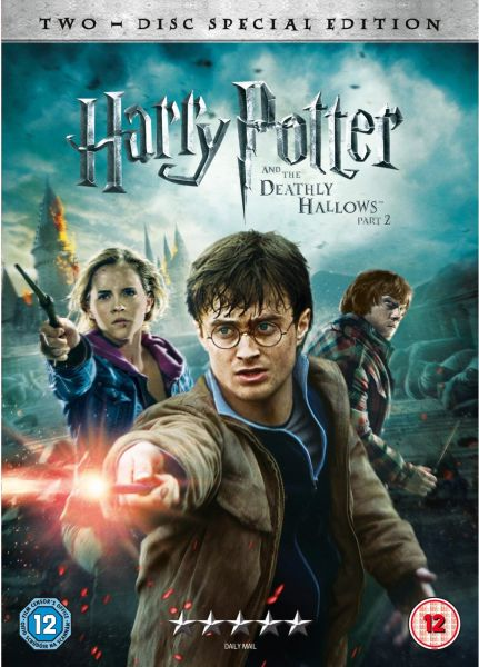 harry potter and the deathly hallows part 2 dvd zavvi. Black Bedroom Furniture Sets. Home Design Ideas