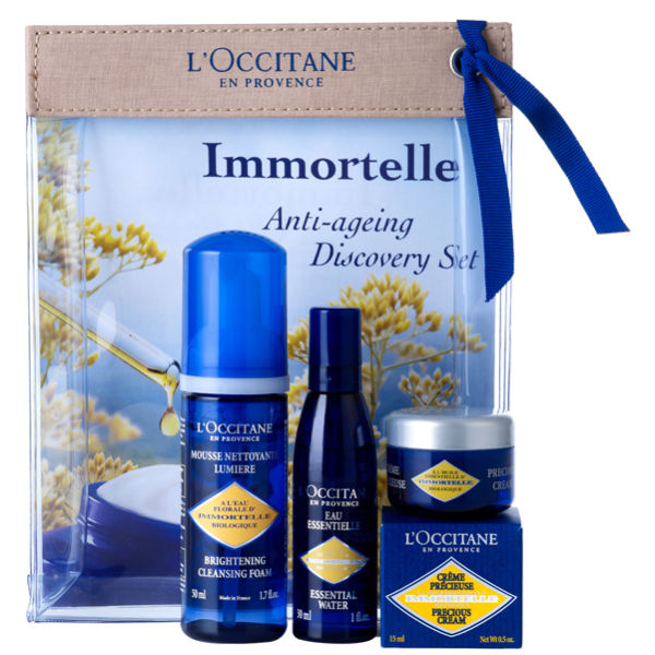 L Occitane Immortelle Discovery Set 3 Products Free