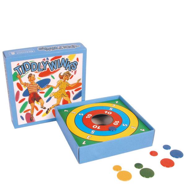 Nostalgic Toys And Games : Retro tiddlywinks board game toys zavvi