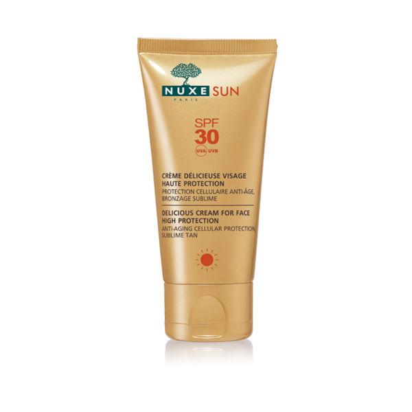 Crème délicieuse visage haute protection NUXE Sun SPF 30  (50ml)
