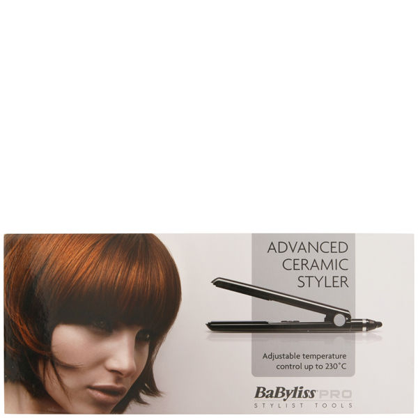 Babyliss Pro Advanced Ceramic Styler Black Free