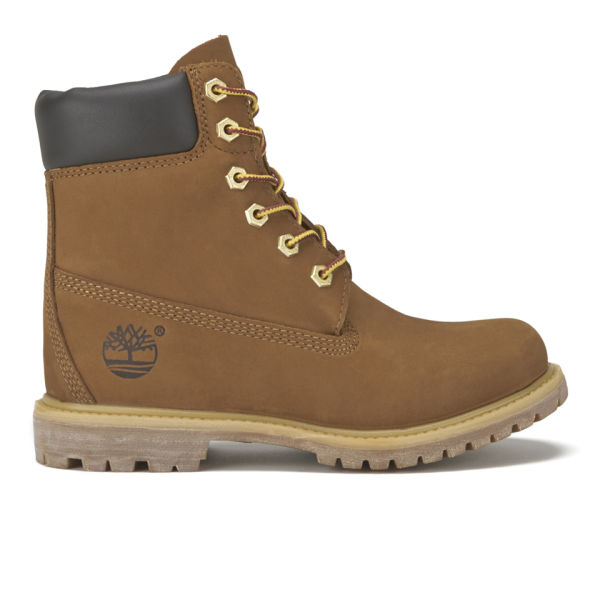 Timberland Women's Earthkeepers 6 Inch Internal Wedge Leather Boots - Rust