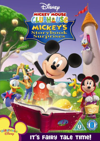 Mickey Mouse Clubhouse Story Book Dvd Zavvi
