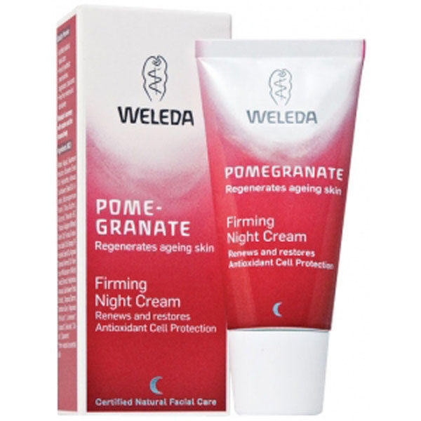 Crema de noche reafirmante Pomegranate Firming Night Cream de Weleda (30 ml)