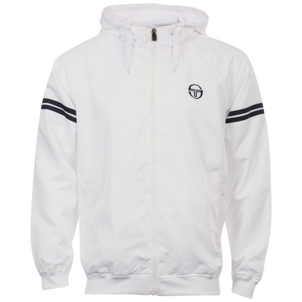 sergio tacchini men 39 s windrunner jacket optic white. Black Bedroom Furniture Sets. Home Design Ideas
