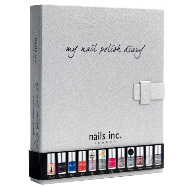 nails inc. Nail Polish Diary (Worth Over £138)