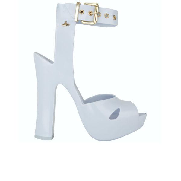 Vivienne Westwood for Melissa Women's Slave Platform Heels - Cornflower Blue