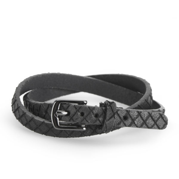 Markberg Women's Sammy Leather Bracelet - Black