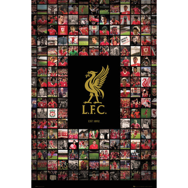 Liverpool Compilation - Maxi Poster - 61 x 91.5cm