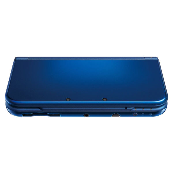 new 3ds xl metallic blue console games consoles. Black Bedroom Furniture Sets. Home Design Ideas