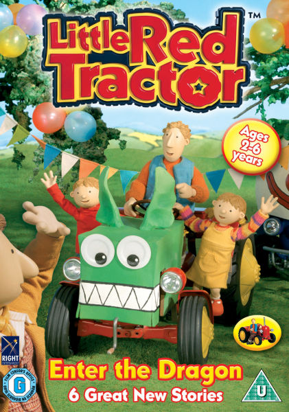 Little Red Tractor - Enter The Dragon