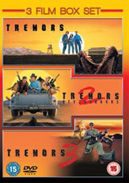 tremors  tremors 2 - aftershocks  tremors 3