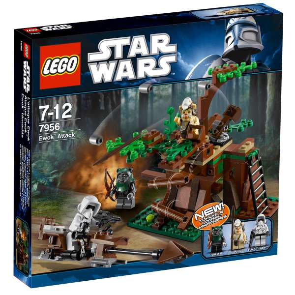 LEGO Star Wars: Ewok Attack (7956): Image 1