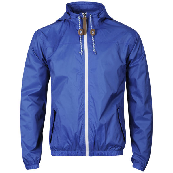 55 Soul Men S Ennis Nylon Jacket Cobalt Clothing Zavvi