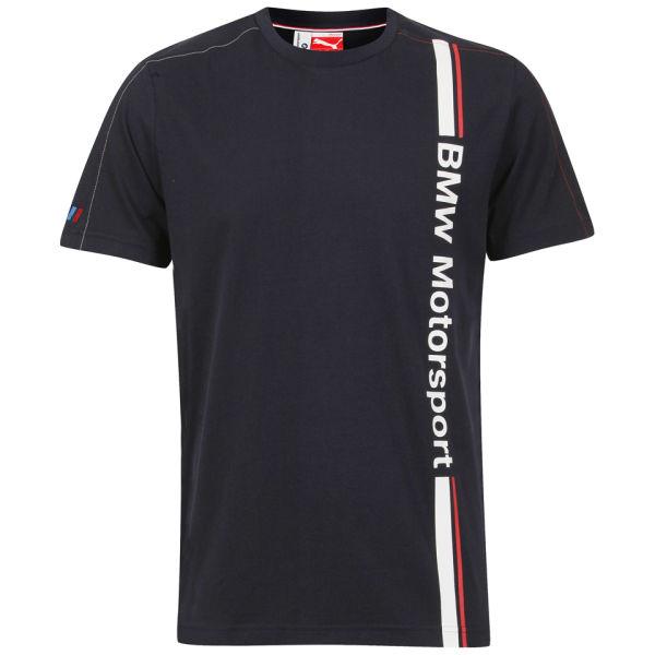 puma men 39 s bmw motorsport t shirt blue clothing. Black Bedroom Furniture Sets. Home Design Ideas
