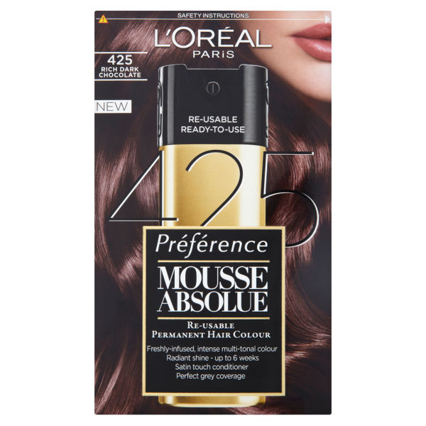 L Oreal Paris Preference Mousse Absolue 425 Rich Dark