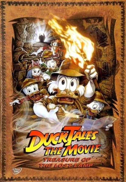 Ducktales The Movie Treasure Of The Lost Lamp Dvd Zavvi