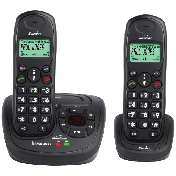 phone number binatone icarus 2020 dect phone electronics thehut 2020