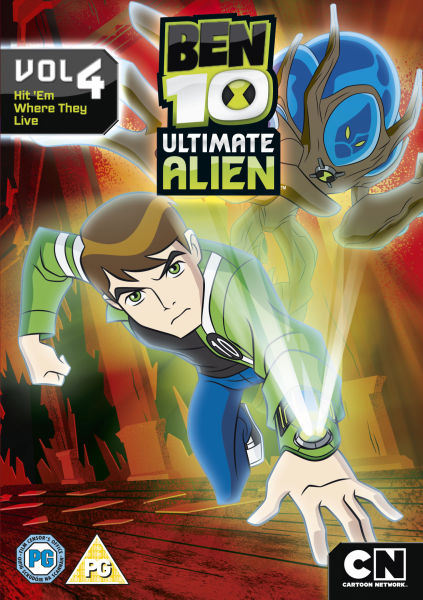 Ben 10 Ultimate Alien Volume 4 Dvd Zavvi