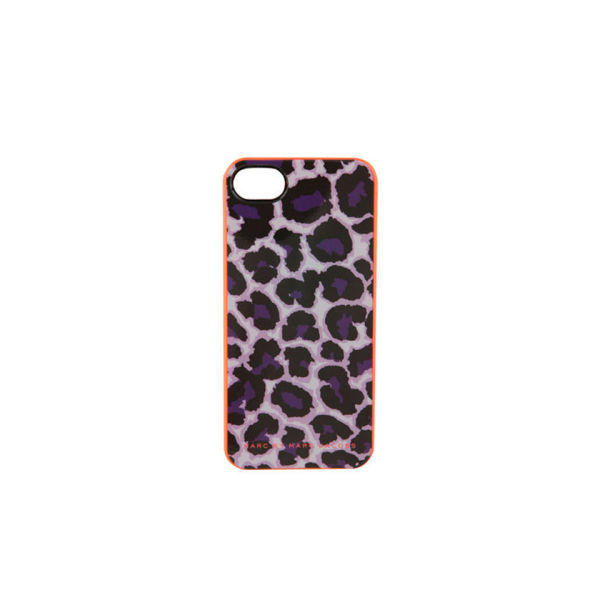 Marc by Marc Jacobs New Jumble Logo Neoprene Tablet Zip iPhone 5 Case - Royal Purple