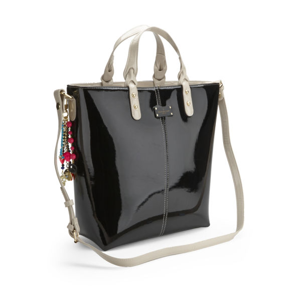 Paul S Boutique Natasha Patent Per Bag Black Image 2