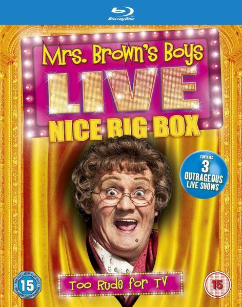 Mrs Browns Boys Live Tour Boxset