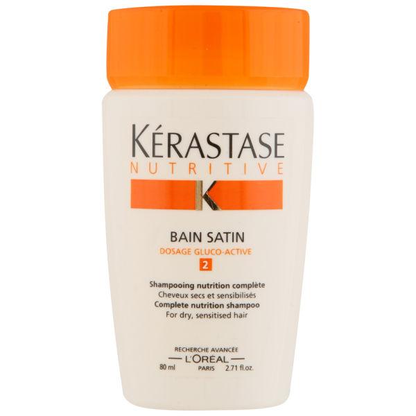 K rastase nutritive bain satin 2 80ml free gift free for Kerastase bain miroir reviews