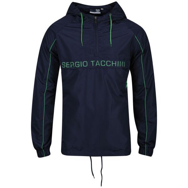 sergio tacchini men 39 s kilner jacket navy clothing zavvi. Black Bedroom Furniture Sets. Home Design Ideas