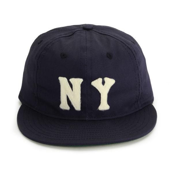 Ebbets Field Flannels New York Yankees NY Cap - Navy - Free UK ... f6ad5e477b4