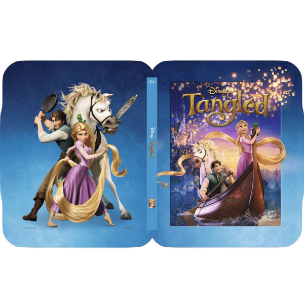 Tangled 3D - Zavvi Exclusive Limited Edition Steelbook