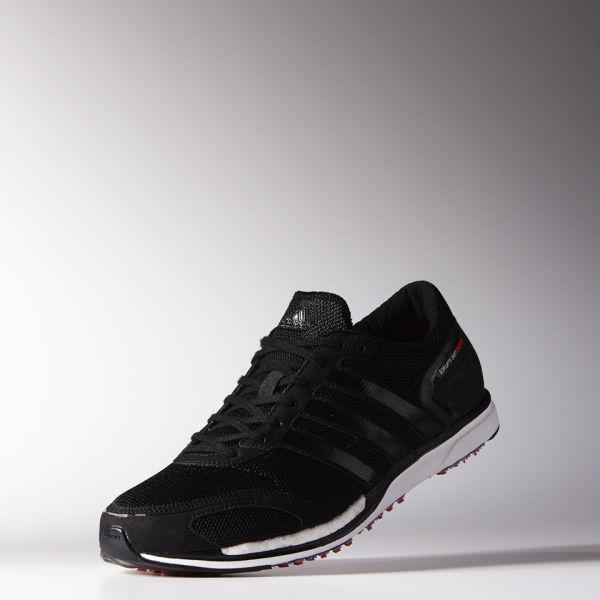 quality design 2b018 078c5 adidas Mens Adizero Takumi Sen Boost 3 Running Shoes - BlackWhite Image 2