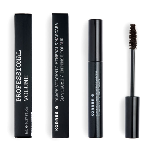 KORRES Volcanic Minerals Mascara - 02 Brown (Ny)