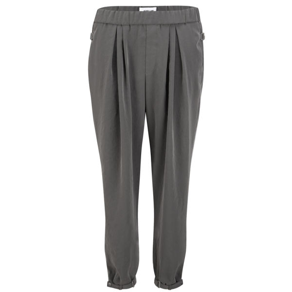 Helmut Lang Women's Terra Ruched Pants - Mantle