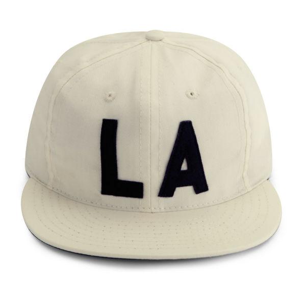 Ebbets Field Flannels Los Angeles 1954 LA Cap - Ivory