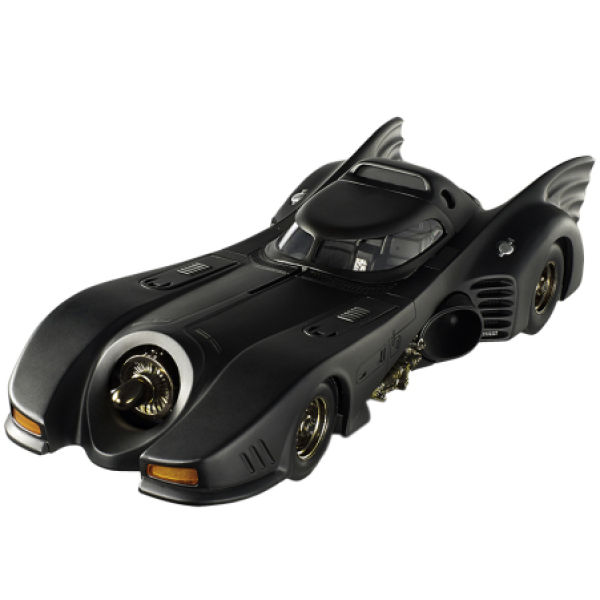 Hot Wheels Elite DC Comics Batman Returns Batmobile 1:18 Scale Model