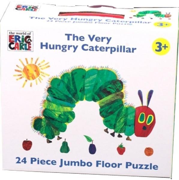 Very Hungry Caterpillar 24 Piece Jumbo Floor Puzzle Iwoot