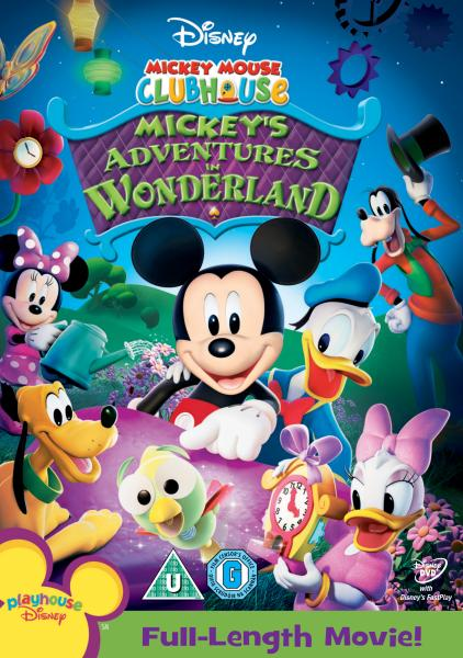 Mickey Mouse Clubhouse Mickeys Adventures In Wonderland