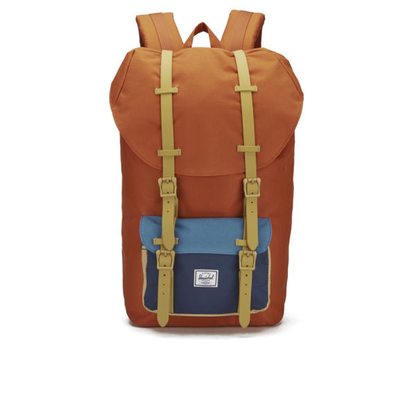 8c606f09fc42 Herschel Supply Co. Classic Little America Backpack - Carrot Navy Cadet  Blue