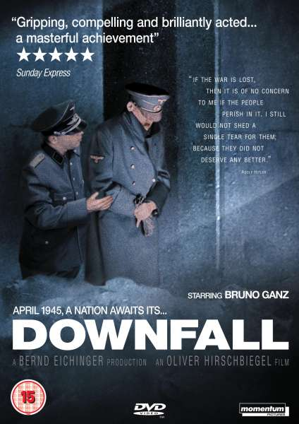 a review of the movie downfall der untergang by oliver hirschbiegel