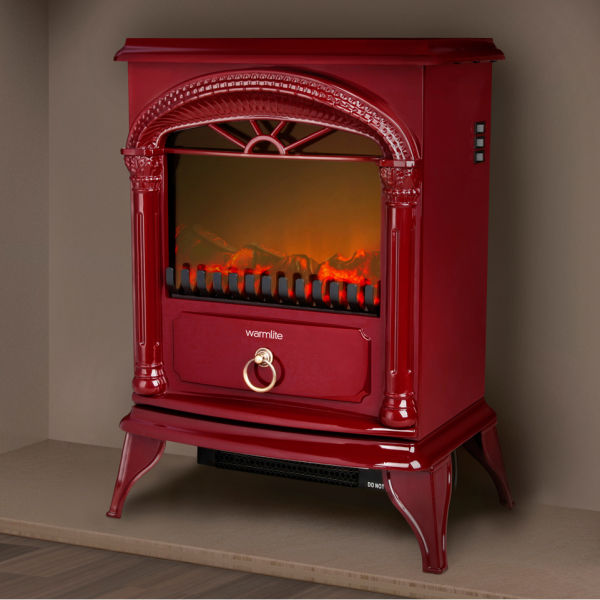 Warmlite 1800w Single Electric Stove Fire Red Iwoot