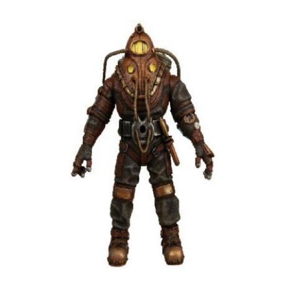 Bioshock big daddy 7 inch action figure gifts for Big daddy s antiques
