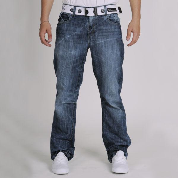 2e679b9686a Crosshatch Men's Hornet Jeans - Stone Wash Mens Clothing | Zavvi