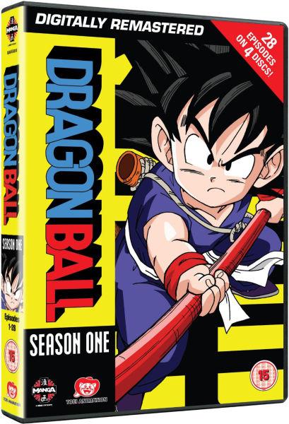 Dragon Ball - Season 1 (Episodes 1-28)