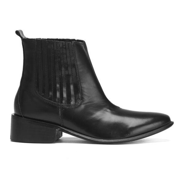Hudson London Women's Behn Hi Shine Chelsea Boots - Black