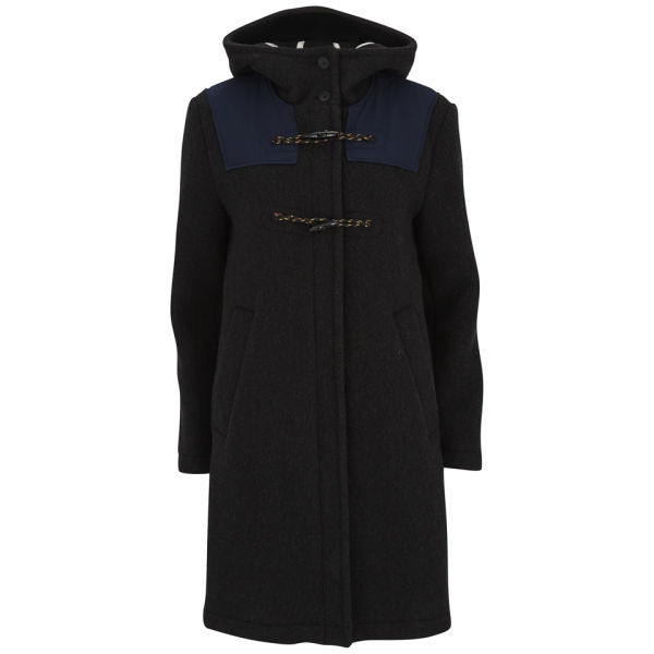 Wood Wood Women's Frida Duffle Coat - Dark Brown