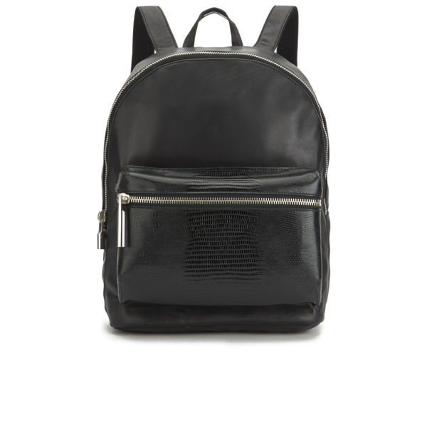 Elizabeth and James Women's Cynnie Leather Backpack - Black