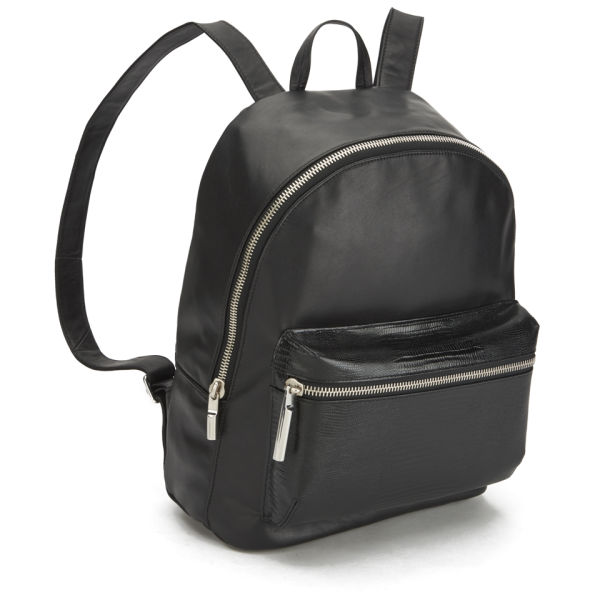 Elizabeth and James Women's Cynnie Leather Backpack - Black - Free ...