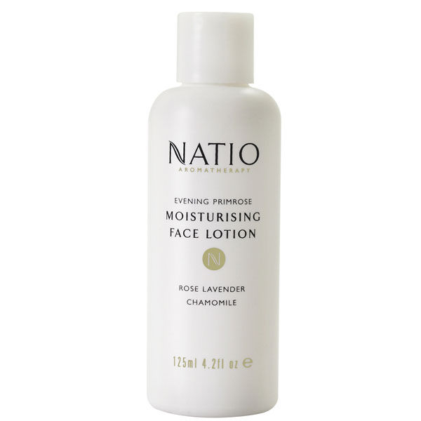 Lotion hydratante pour le visage à l'onagre de Natio (125ml)