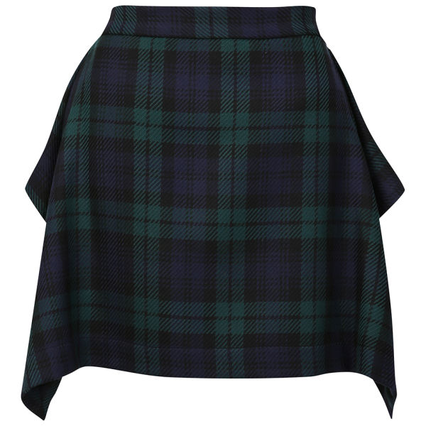 Vivienne Westwood Anglomania Women's Consort Skirt - Blue/Black/Green
