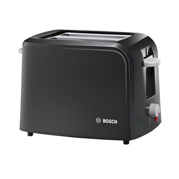 bosch tat3a013gb vintage 2 slice toaster black iwoot. Black Bedroom Furniture Sets. Home Design Ideas
